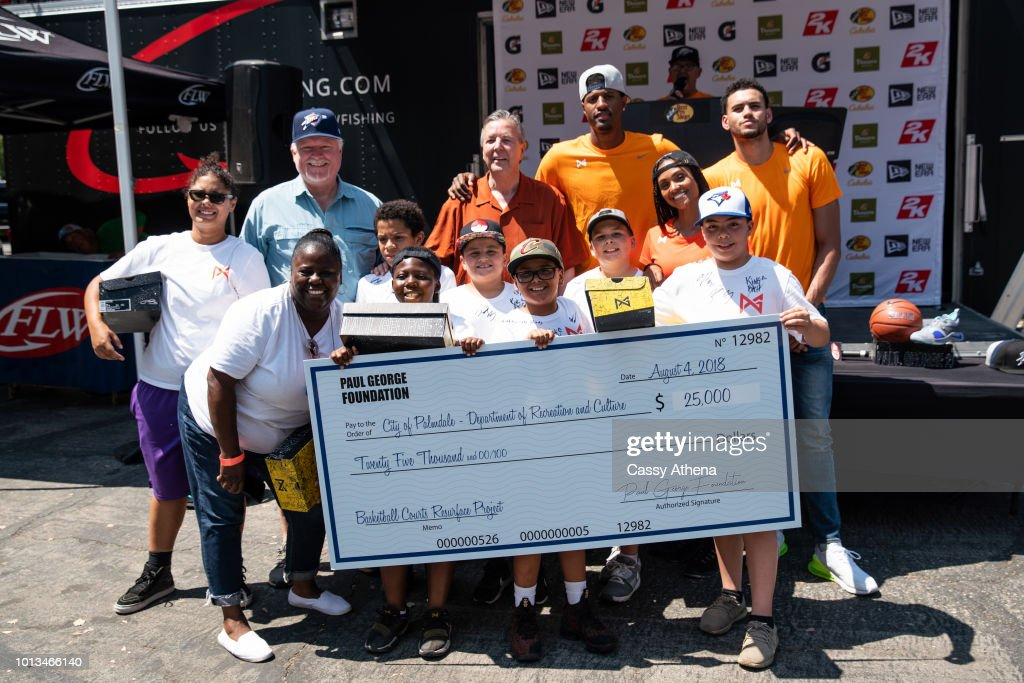 Paul George Hosts 2nd Annual Celebrity Fishing Tournament   News Photo 03573c40d