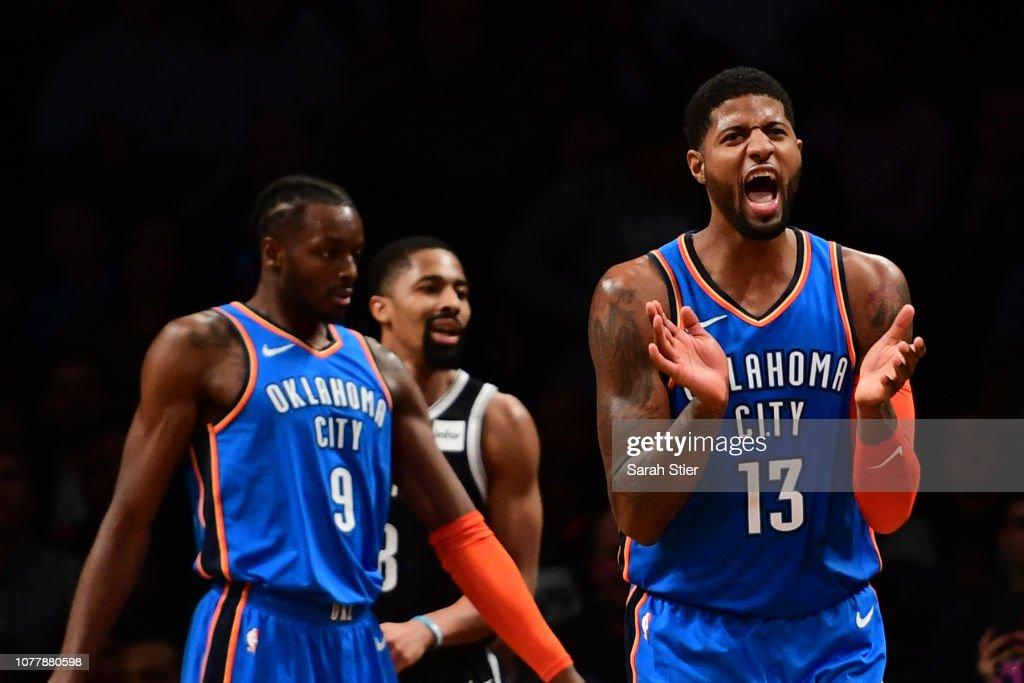 Oklahoma City Thunder v Brooklyn Nets : News Photo