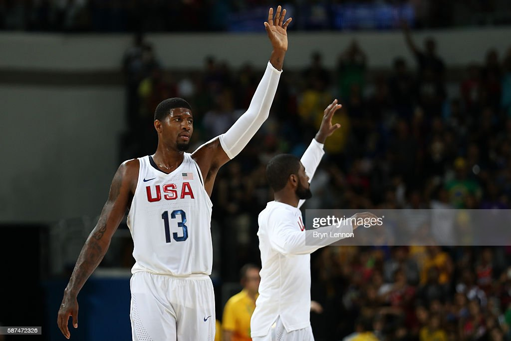 Men's Basketball - Olympics: Day 3 : News Photo