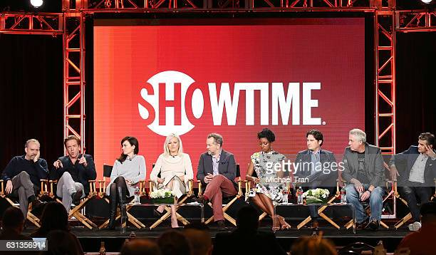 Paul Giamatti Damian Lewis Maggie Siff Malin Akerman David Costabile Condola Rashad Toby Leonard Moore Brian Koppelman and David Levien for the...