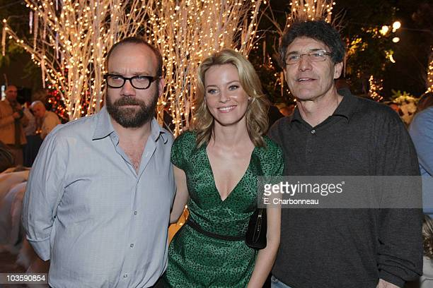 Paul Giamatti Elizabeth Banks and Warner's Alan Horn at the Premiere of Warner Bros FRED CLAUS at Grauman's Chinese Theatre on November 3 2007 in Los...