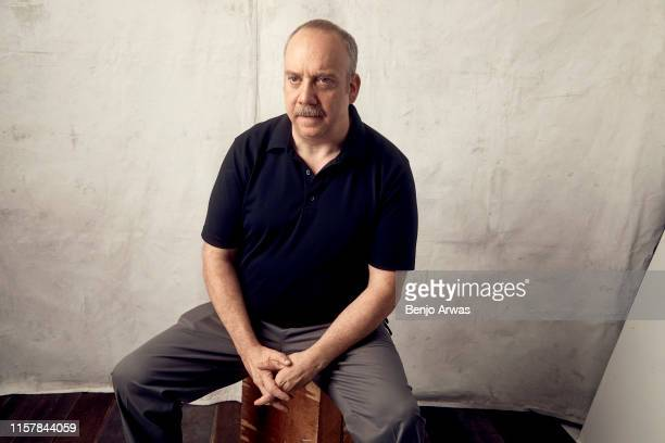 Paul Giamatti of AMC's 'Lodge 49' poses for a portrait during the 2019 Summer Television Critics Association Press Tour at The Beverly Hilton Hotel...