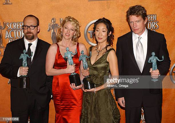 Paul Giamatti Virginia Madsen Sandra Oh and Thomas Haden Church winners for Outstanding Cast in a Motion Picture for 'Sideways'