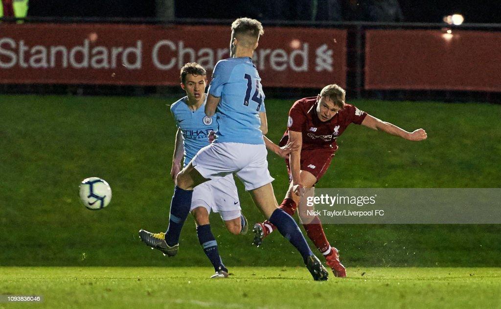Liverpool v Manchester City: Premier League 2 : News Photo