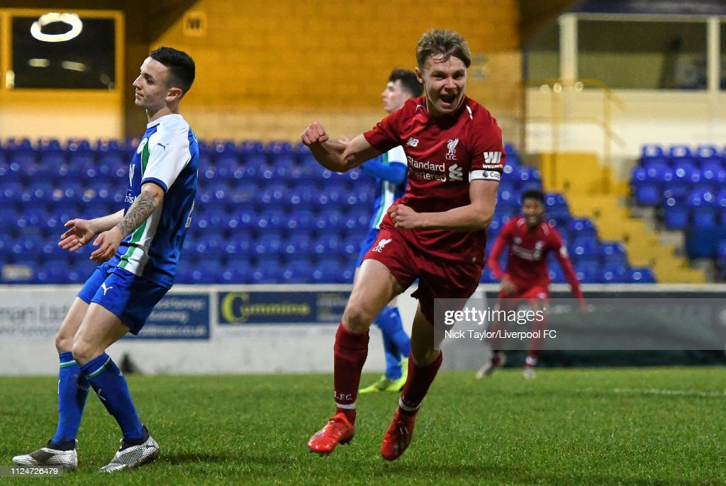 Liverpool v Wigan Athletic - FA Youth Cup : News Photo