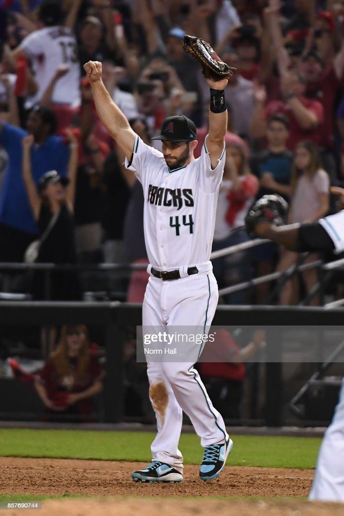 National League Wild Card Game - Colorado Rockies v Arizona Diamondbacks : Nachrichtenfoto