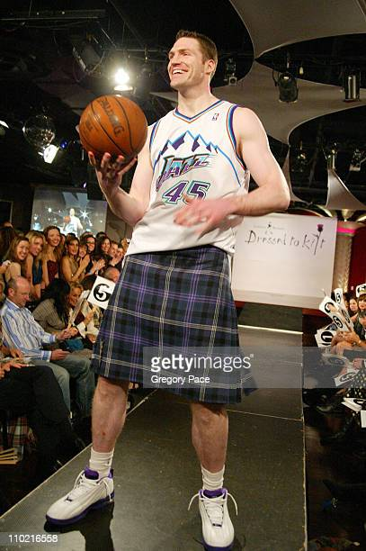 Paul Grant during Dressed to Kilt A Scottish Evening of Fashion and Fun Runway at Copacabana in New York City New York United States