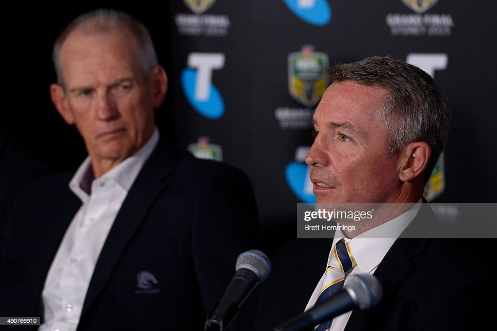 2015 NRL Grand Final Press Conference