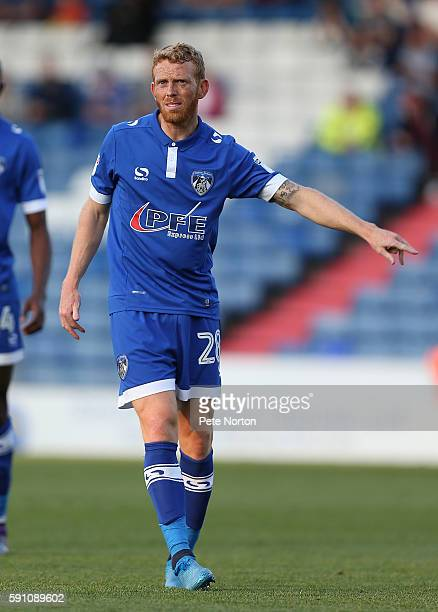 Paul Green of Oldham Athletic in action during the Sky Bet League One match between Oldham Athletic and Northampton Town at SportsDirectcom Park on...