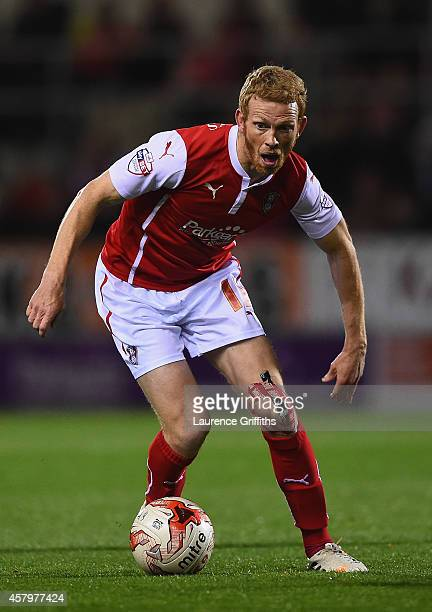 Paul Green of Rotherham United in action during the Sky bet Championship match between Rotherham United and Fulham at The New York Stadium on October...