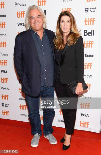 Paul Greengrass and Joanna Kaye attend the 2018 Toronto International Film Festival premiere of '22 July' at The Elgin on September 8 2018 in Toronto...