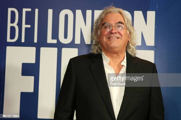 Paul Greengrass attends the 61st BFI London Film Festival Awards on October 14 2017 in London England