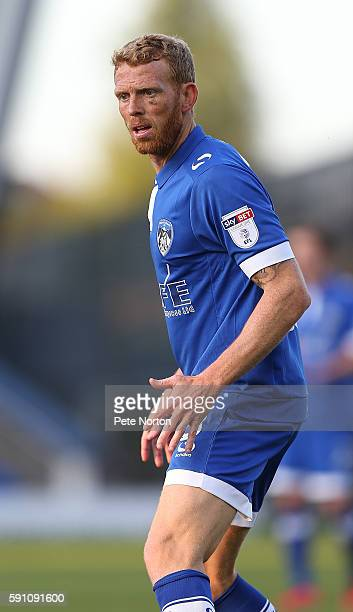 Paul Greenof Oldham Athletic in action during the Sky Bet League One match between Oldham Athletic and Northampton Town at SportsDirectcom Park on...