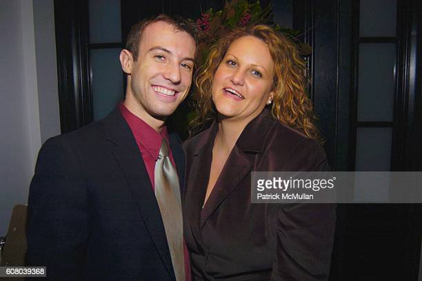 Paul Gregg and Jennifer Mickan attend Holiday Cocktail Party Hosted by LUKE and JULIE JANKLOW at Janklow Residence on December 5 2006 in New York City
