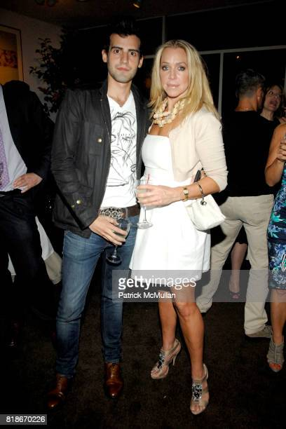 Paul Guevara and Anna Rothschild attend ARTWALK NEW YORK KICKOFF PARTY hosted by COALITION FOR HOMELESS at Michael's Restaurant on June 30 2010 in...