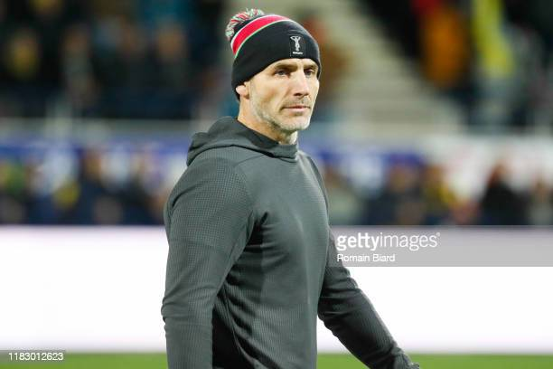 Paul GUSTARD head coach of Harlequins during the European Rugby Champions Cup Pool 3 match between ASM Clermont Auvergne and Harlequin FC on November...