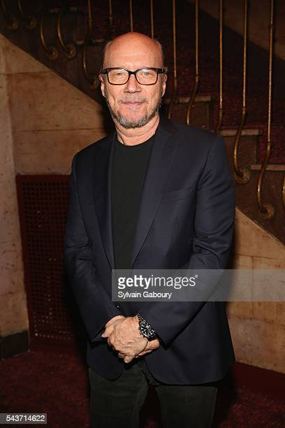 Paul Haggis attends a screening of The BFG hosted by Disney and The Cinema Society at Village East Cinema on June 29 2016 in New York City
