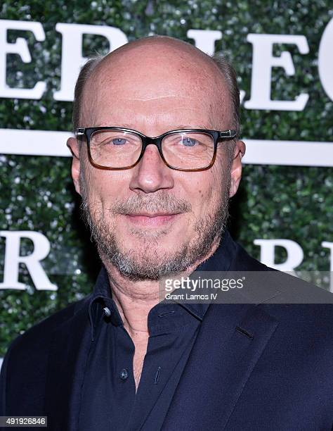 Paul Haggis attends the 53rd New York Film Festival Filmmakers In Residence Dinner at Cafe Clover on October 8 2015 in New York City