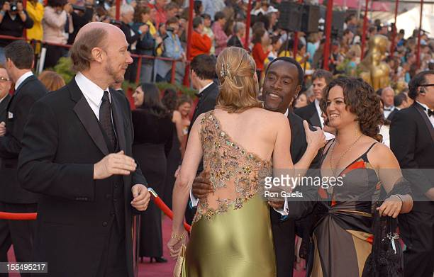 Paul Haggis nominee Best Adapted Screenplay for Million Dollar Baby wife Deborah Don Cheadle nominee Best Actor in a Leading Role for Hotel Rwanda...