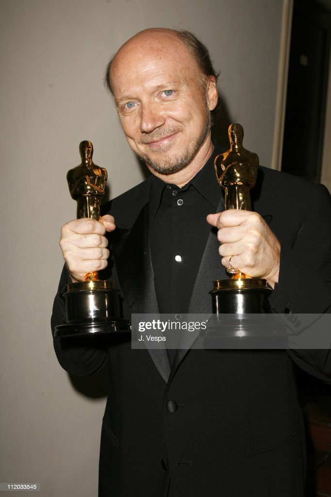 Paul Haggis, winner Best Picture and Best Original Screenplay for 'Crash'