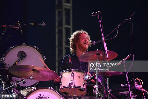 Paul Hamilton performs onstage with Foy Vance during T in The Park at Strathallan Castle on July 9, 2016 in Perth, Scotland.