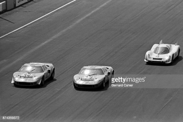 Paul Hawkins Jacky Ickx Jo Siffert Ford GT40 1000 Km of Monza Autodromo Nazionale Monza 25 April 1968