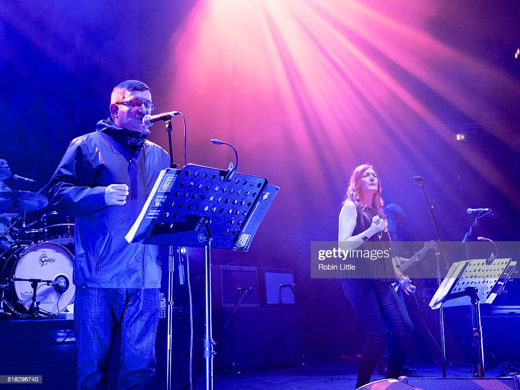 Paul Heaton And Jaqui Abbott Perform At Royal Albert Hall In London