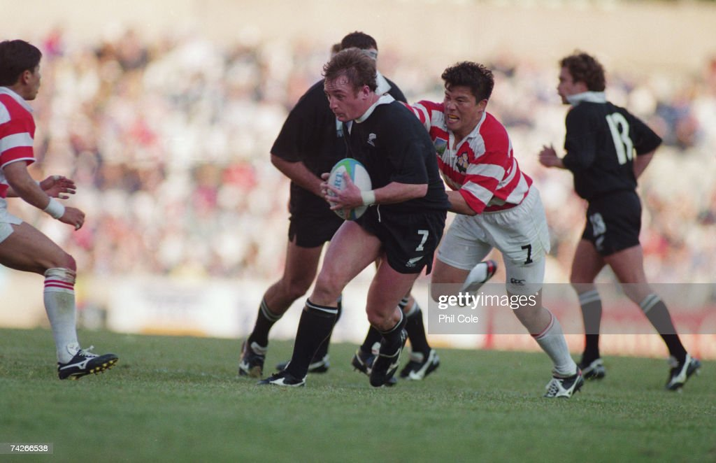 Rugby World Cup 1995 : News Photo