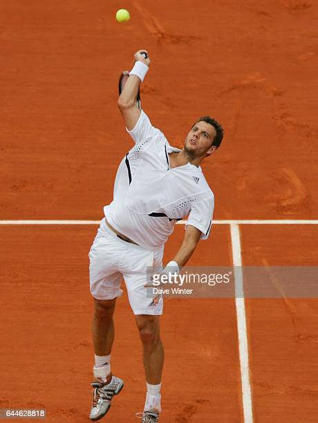 Paul Henri MATHIEU - - Roland Garros 2008 - Jour 8 - Photo: Dave Winter / Icon Sport