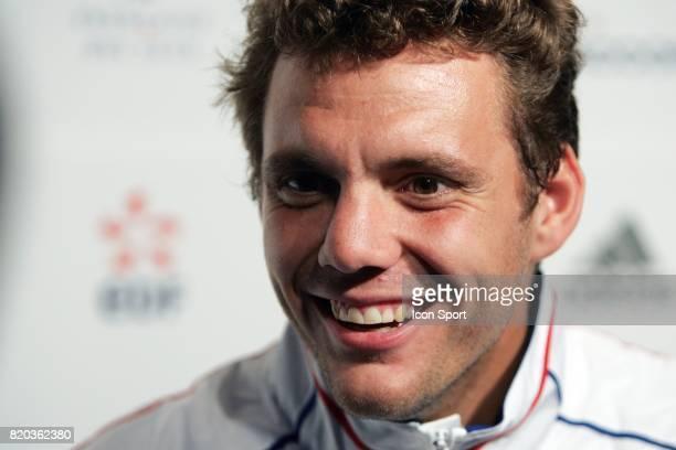 Paul Henri MATHIEU - - Conference de presse de l'Equipe de France de Tennis,
