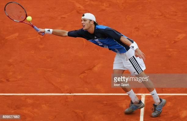 Paul Henri MATHIEU - - 1/8 finale Simple messieurs Roland Garros,