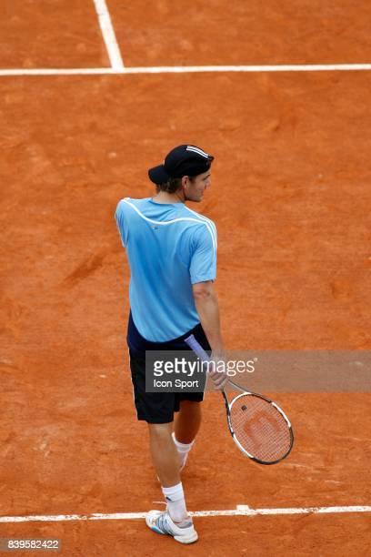 Paul Henri MATHIEU - Entrainement - - Roland Garros 2006,