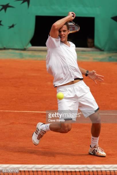 Paul Henri MATHIEU - Journee Benny Berthet - - - Roland Garros 2007 . Photo: Dave Winter/Icon Sport