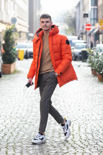 DEU: Paul Henry Duval Street Style Shooting In Dusseldorf