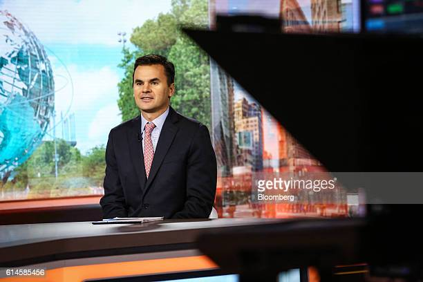 Paul Hickey cofounder at Bespoke Investment Group LLC smiles during a Bloomberg Television interview in New York US on Friday Oct 14 2016 Hickey...