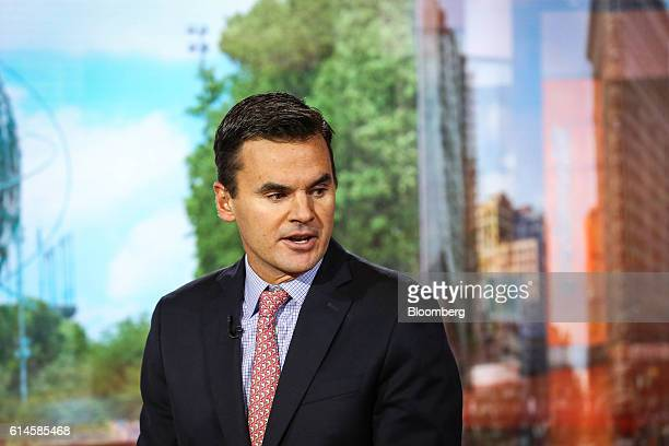 Paul Hickey cofounder at Bespoke Investment Group LLC speaks during a Bloomberg Television interview in New York US on Friday Oct 14 2016 Hickey...