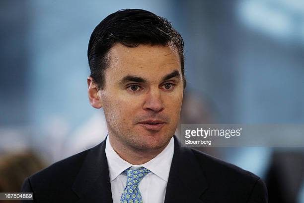 Paul Hickey cofounder Of Bespoke Investment Group LLC speaks during a Bloomberg Television interview in New York US on Thursday April 25 2013 Bespoke...