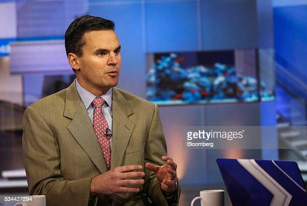 Paul Hickey cofounder of Bespoke Investment Group LLC speaks during a Bloomberg Television interview in New York US on Thursday May 26 2016 Hickey...