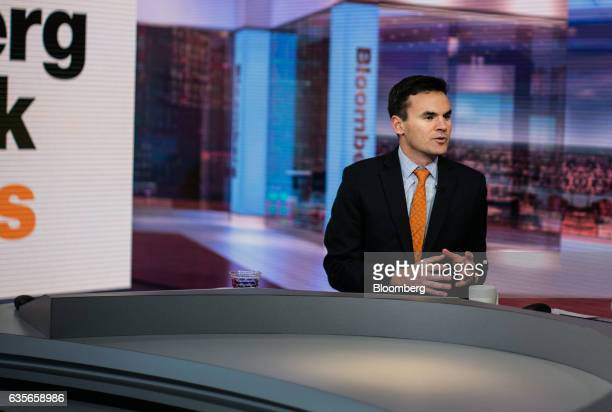 Paul Hickey cofounder of Bespoke Investment Group LLC speaks during a Bloomberg Television interview in New York US on Thursday Feb 16 2017 Hickey...
