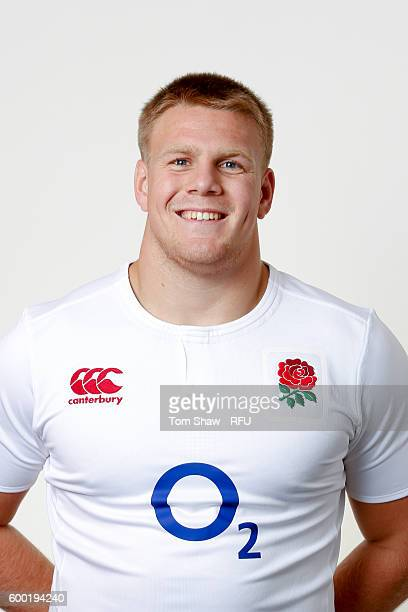 Paul Hill of England poses for a portrait during the England Elite Player Squad photo call at The Lensbury on August 7 2016 in Teddington England