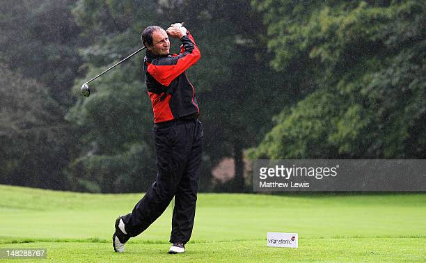 Paul Hinton of Chesterton Valley Golf Club tees off on the 4th hole during the Virgin Atlantic PGA National ProAm Championship Midland Regional Final...
