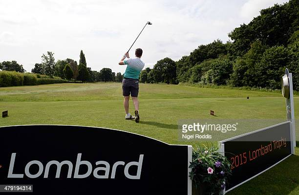 Paul Hodges in action during The Lombard Trophy North East Qualifier on July 2 2015 in Fulford England
