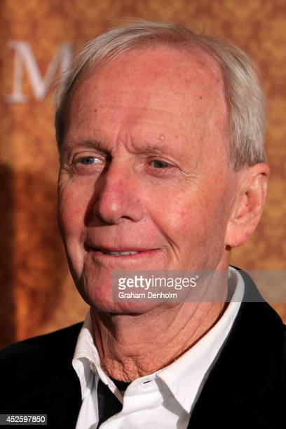 Paul Hogan arrives at the opening night of Mother Son at the Comedy Theatre on July 24 2014 in Melbourne Australia