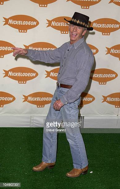 Paul Hogan during The 14th Annual Kids Choice Awards Press Room at Barker Hanger in Santa Monica California United States