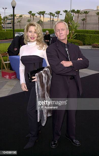 Paul Hogan Linda Kozlowski during Crocodile Dundee in Los Angeles Los Angeles Premiere at Paramount Studios in Los Angeles California United States