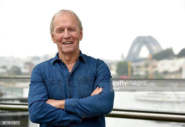 Paul Hogan poses after being announced as the 2016 AACTA Longford Lyell Award recipient on December 6 2016 in Sydney Australia
