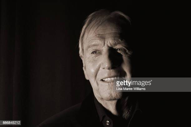 Paul Hogan poses backstage during the 7th AACTA Awards Presented by Foxtel at The Star on December 6 2017 in Sydney Australia