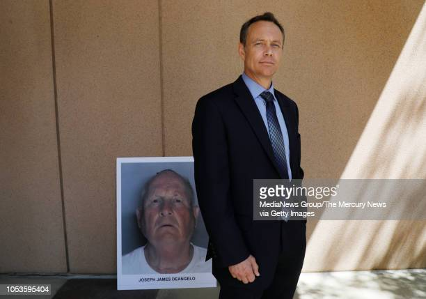 Paul Holes retired Contra Costa investigator who spent 24 years investigating the Golden State Killer is photographed outside the Sacramento District...