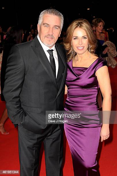 Paul Hollywood and Alexandra Hollywood attend the National Television Awards at 02 Arena on January 21 2015 in London England