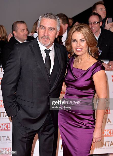 Paul Hollywood and wife Alexandra attend the National Television Awards at 02 Arena on January 21 2015 in London England